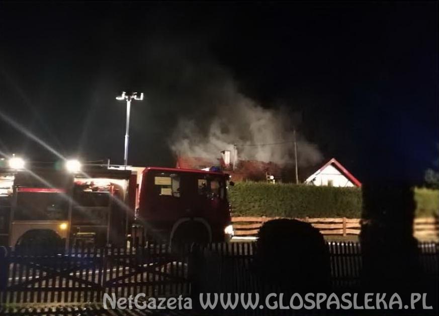 Pożar w Brzozówce
