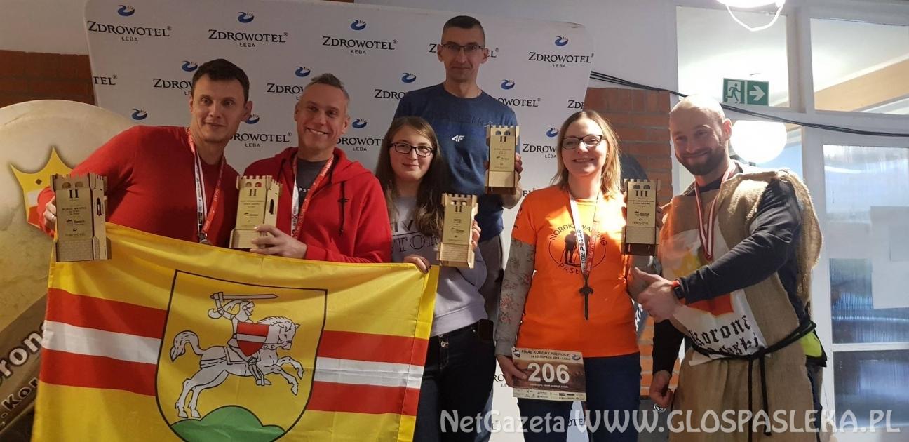 Grupa Nordic Walking Pasłęk z sukcesami po kolejnych zawodach