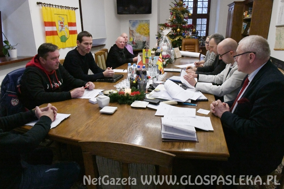Spotkanie Miejsko – Gminnej Rady Sportu