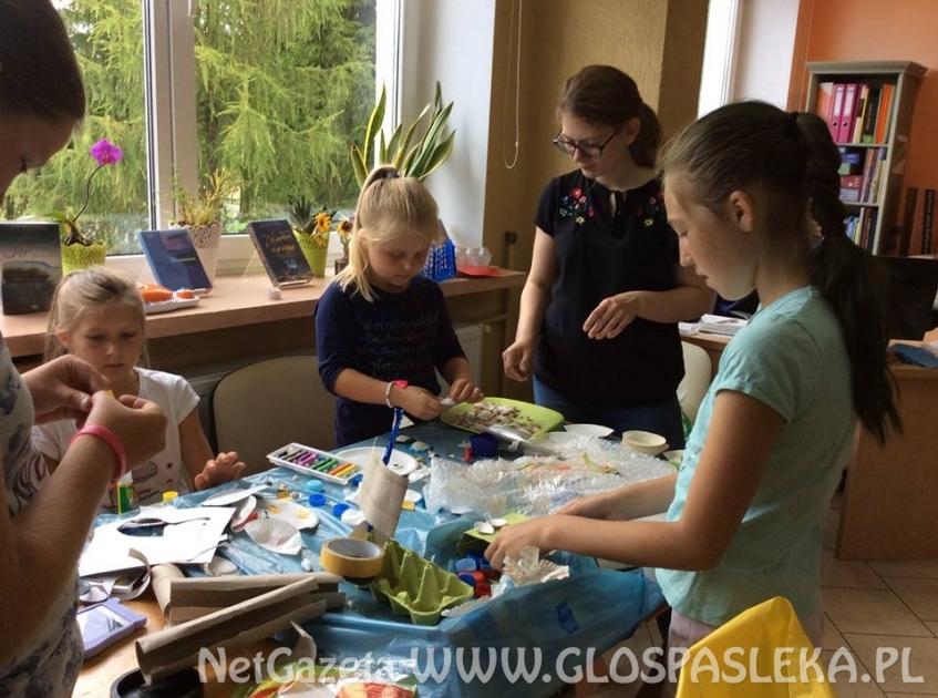 Sprawozdanie z wydarzeń w Bibliotece Publicznej w Godkowie w ramach współpracy z Bibliotek