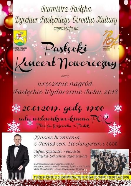 Pasłęcki Koncert Noworoczny – godz. 19:00