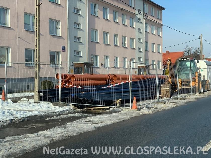 Przebudowa chodnika na ul. Ogrodowej