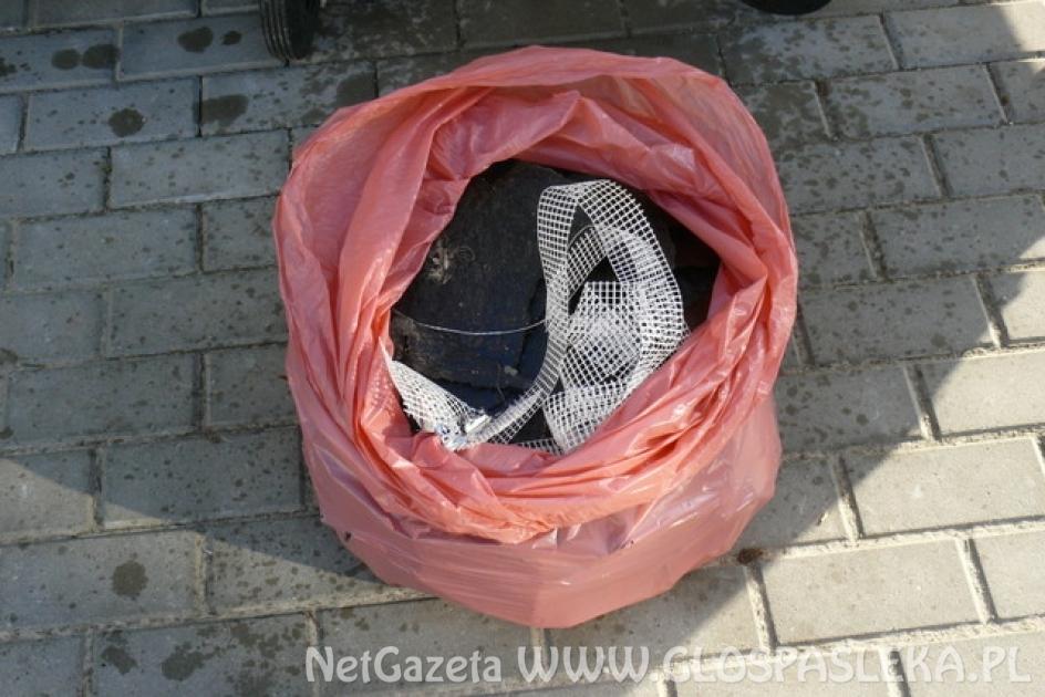 Podrzucone śmieci