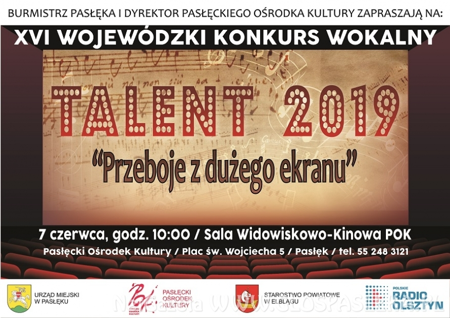 Konkurs Wokalny Talent 2019