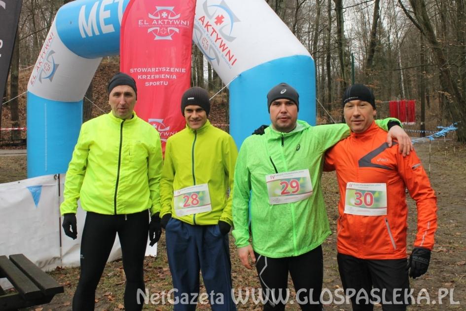 Pasłęczanie w Półmaratonie Leśnym