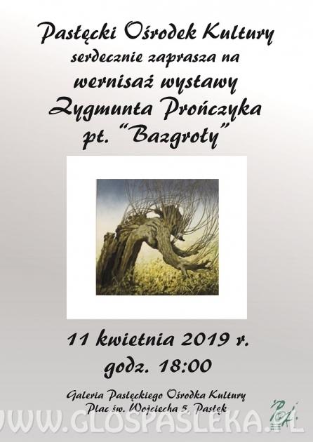 Bazgroły - wystawa Zygmunta Prończyka