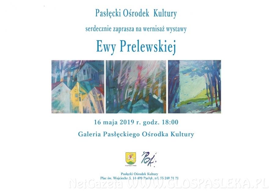 Wernisaż wystawy Ewy Prelewskiej