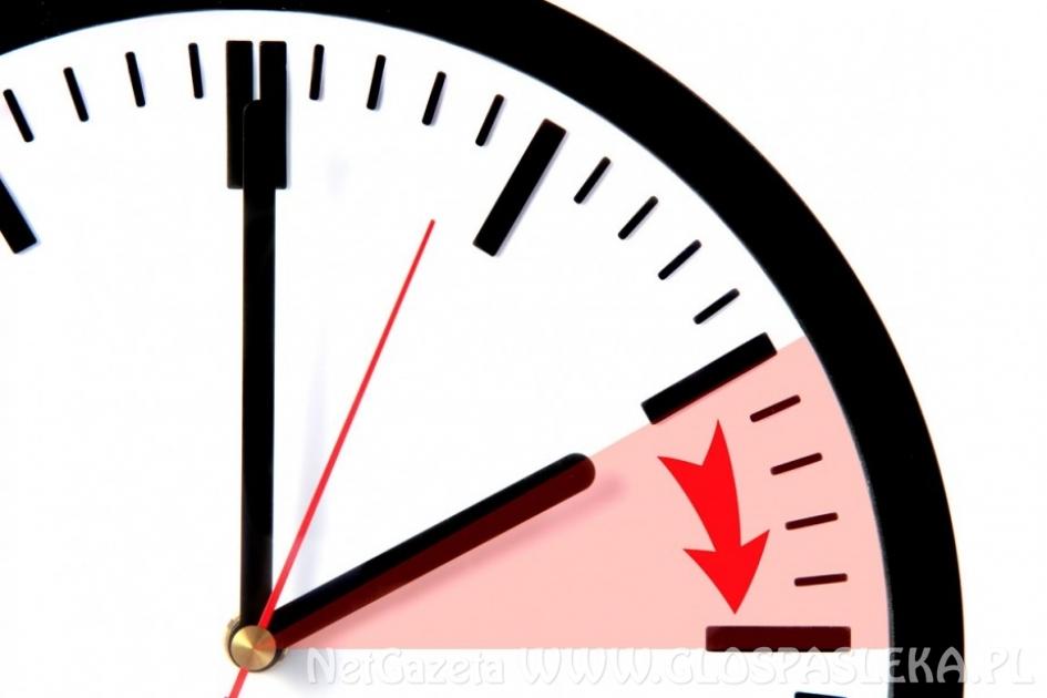 Uwaga zmiana czasu