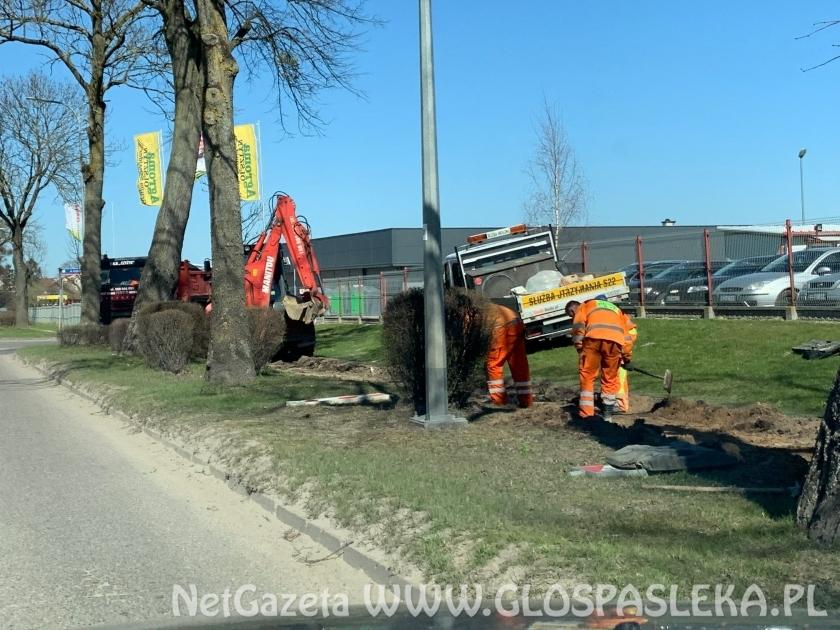 Remontują chodnik na ul. Boh. Westerplatte