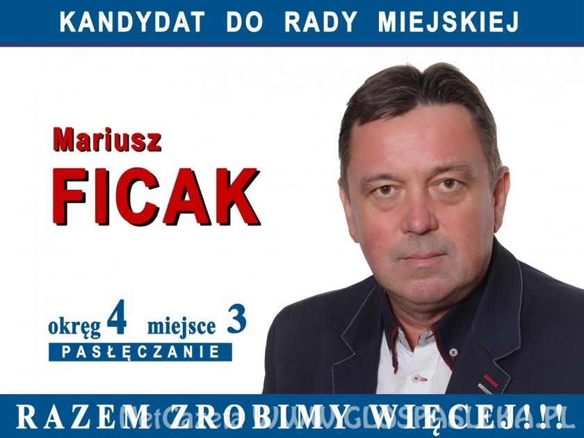 Kandydat Mariusz Ficak