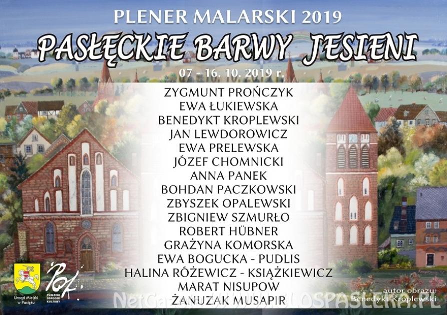"""Plener Malarski """"Pasłęckie Barwy Jesieni"""""""