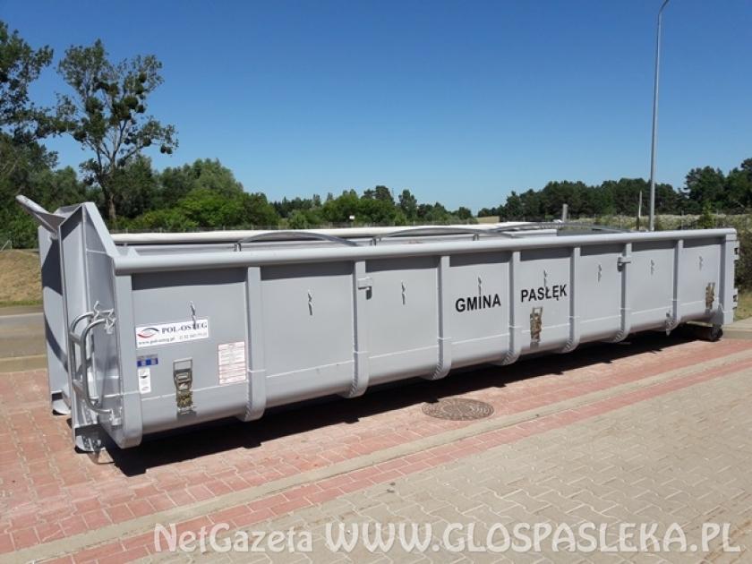 Odbiór odpadów budowlanych i rozbiórkowych z terenu gminy Pasłęk - miejscowości wiejskie
