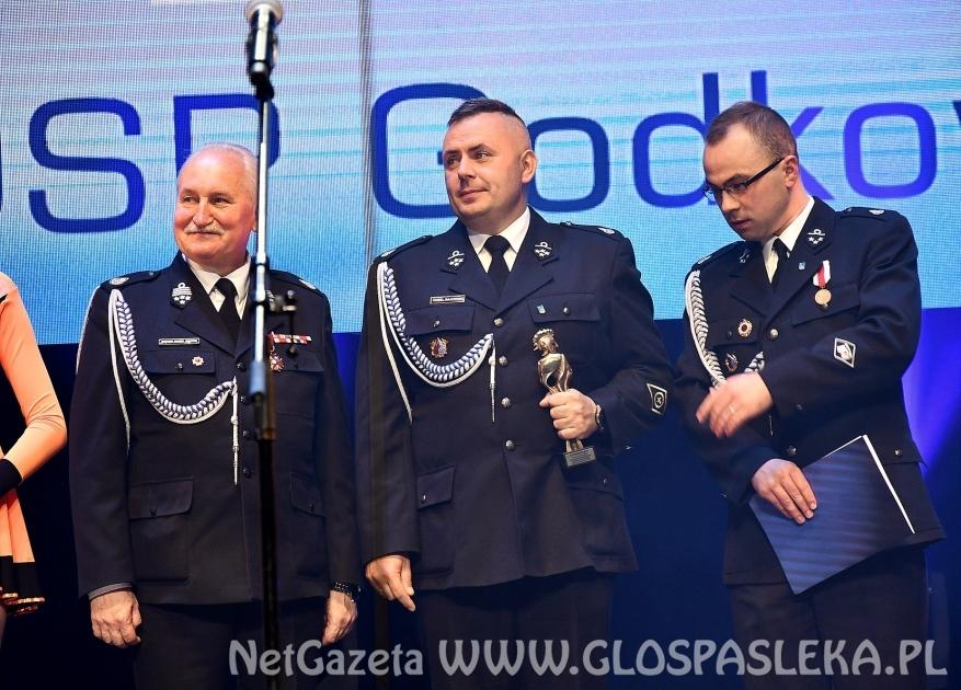 Florian dla Ochotniczej Straży Pożarnej w Godkowie