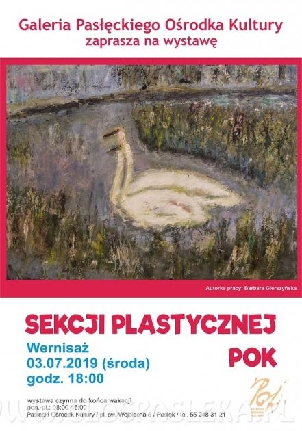 Wernisaż wystawy Sekcji Plastycznej POK