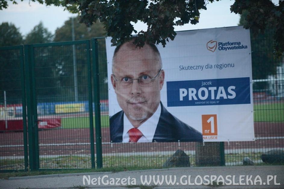 Wybory parlamentarne - Protas pierwszy na liście KO