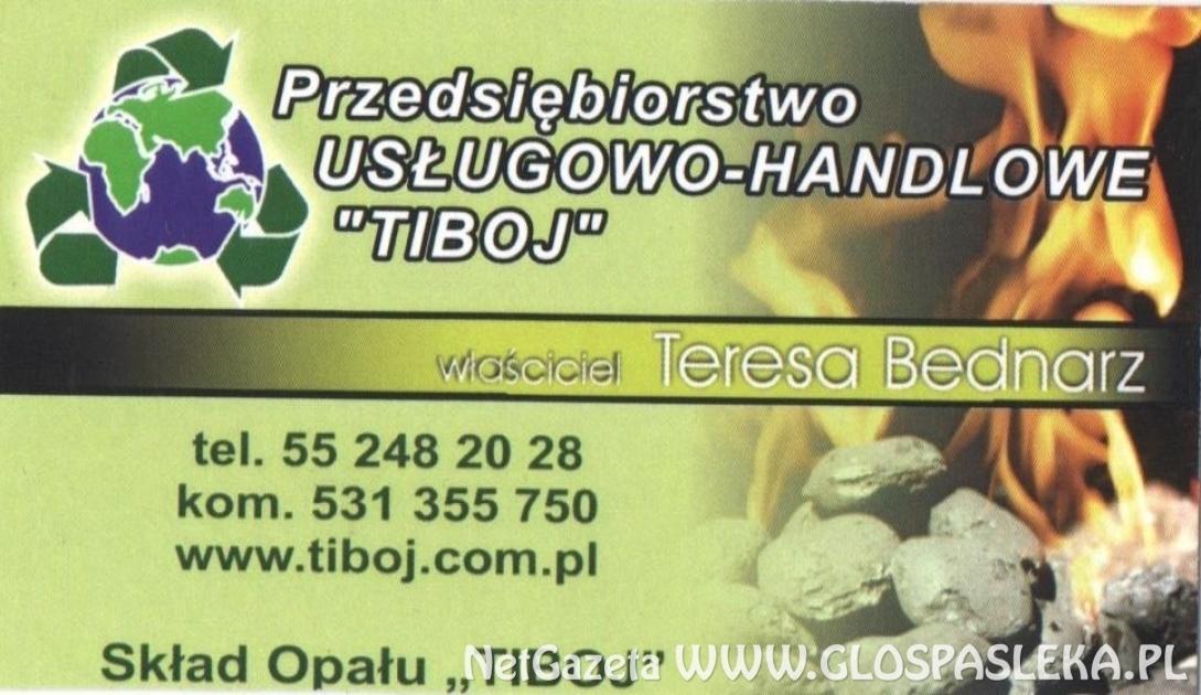 Skład Opału TIBOJ od września w nowej siedzibie