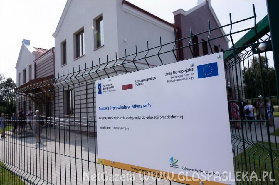 Otwarcie budynku przedszkola w Młynarach