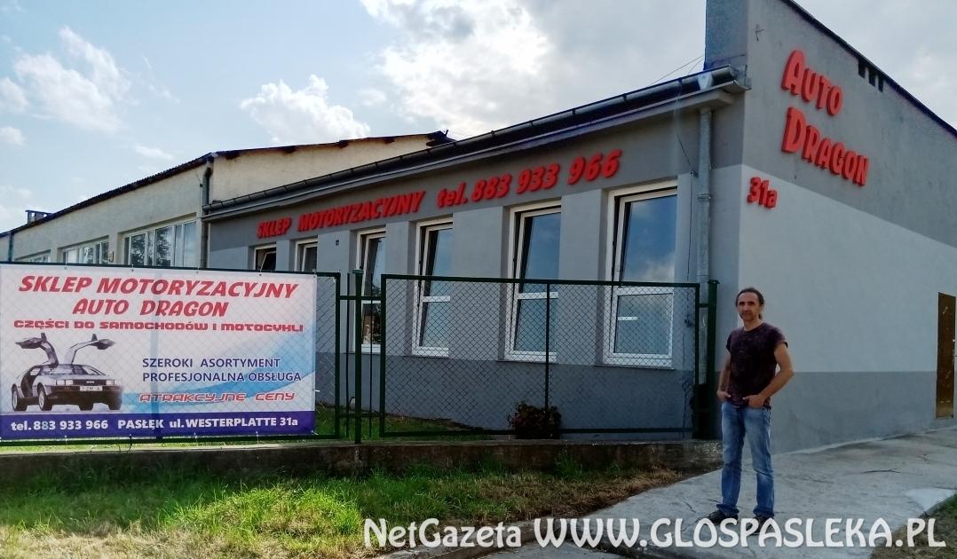 AUTO DRAGON - nowy sklep motoryzacyjny w Pasłęku