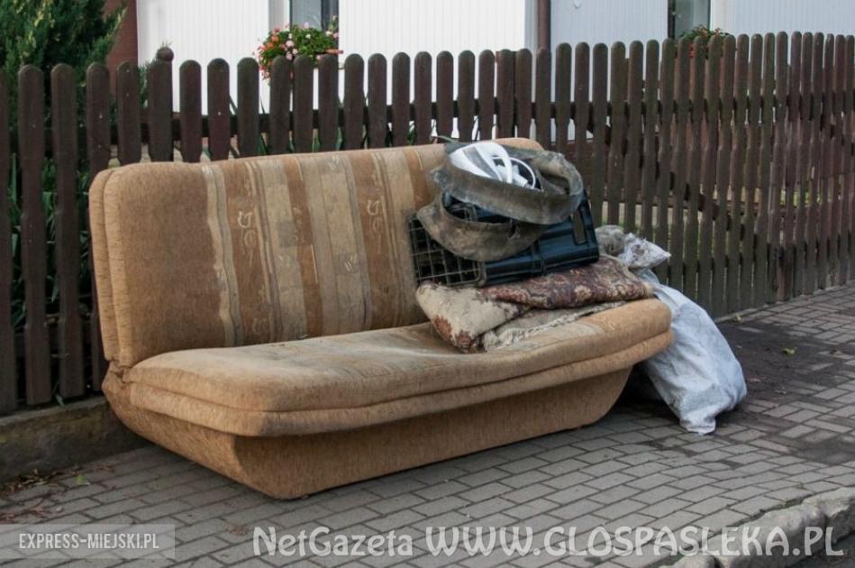 Odbiór odpadów wielkogabarytowych z terenu miasta Pasłęk