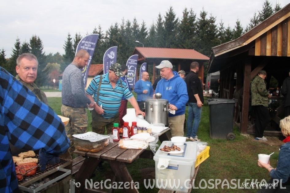 Zawody działaczy Okręgu PZW w Elblągu