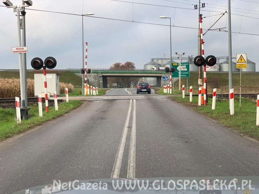 Remont przejazdu kolejowego na trasie Pasłęk-Krosno