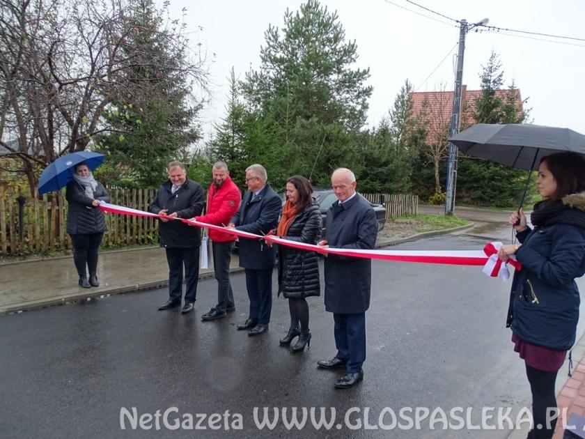 Nowe nawierzchnie ulic w Młynarach