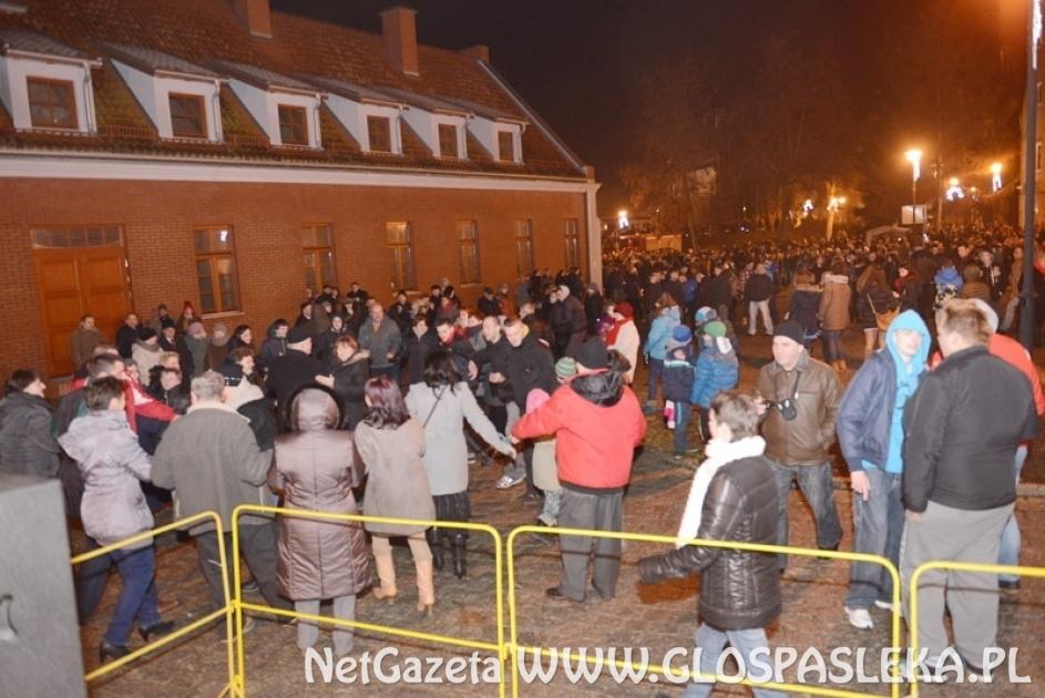 Nowy Rok na placu św. Wojciecha