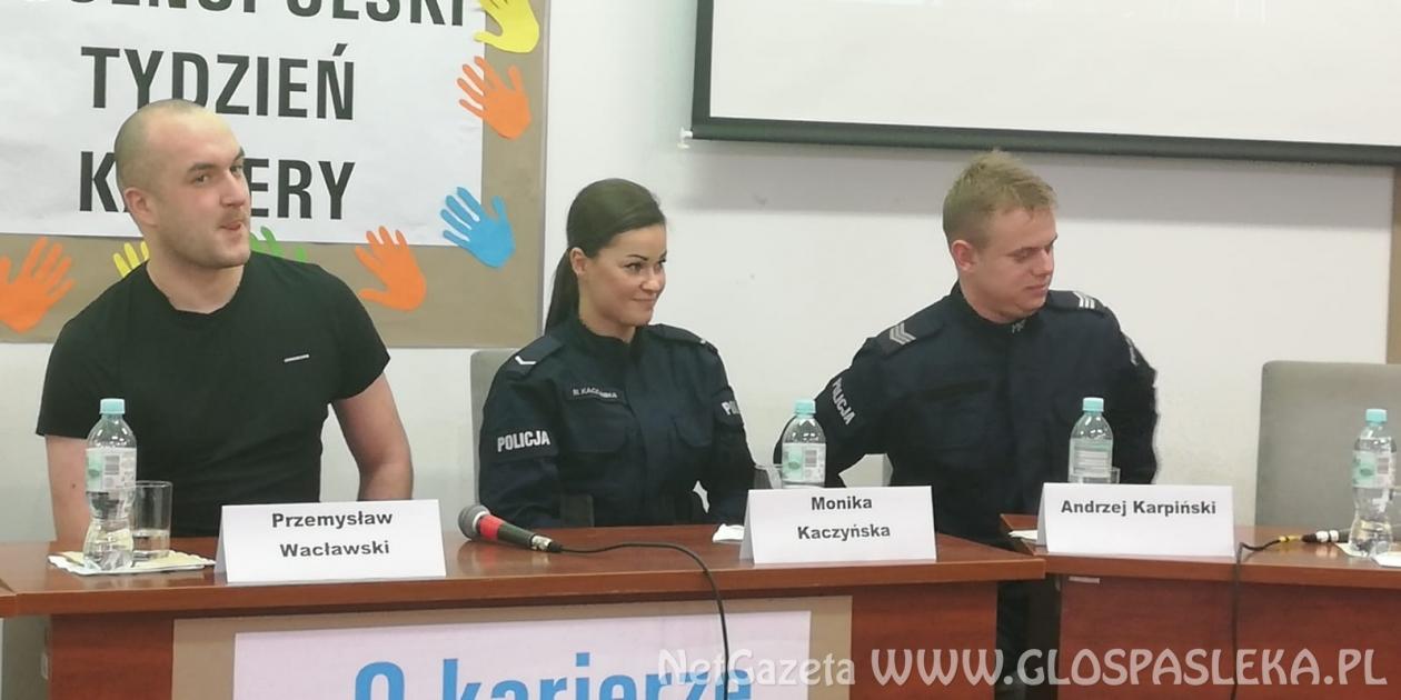 Promowali zawód policjanta