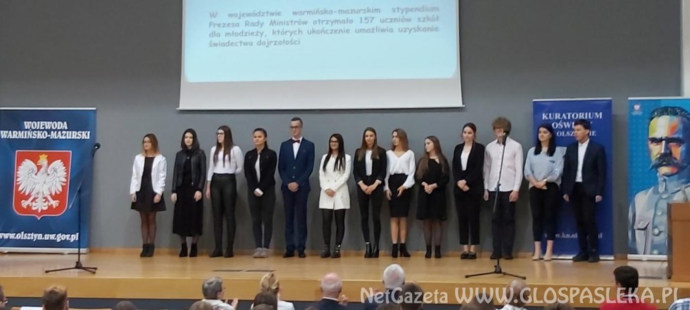 Uczennice Zespołu Szkół laureatkami Stypendium Prezesa Rady Ministrów