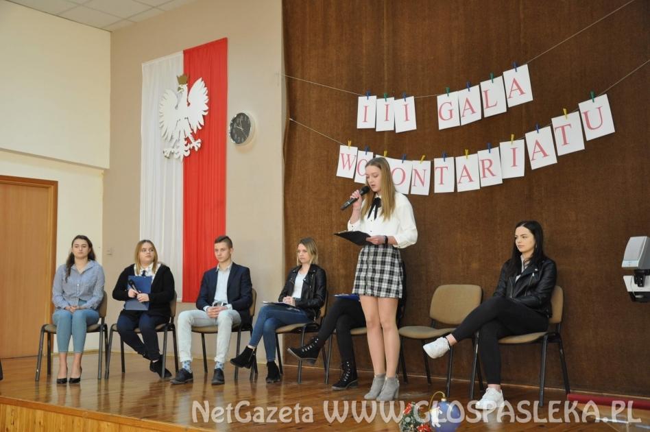 III Szkolna Gala Wolontariatu
