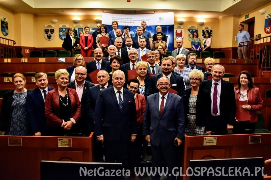 Duży awans w rankingu samorządu województwa warmińsko - mazurskiego