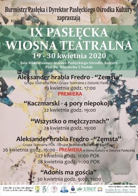 IX Pasłęcka Wiosna Teatralna