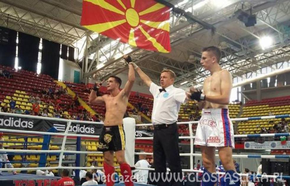 Treningi kick boxerów