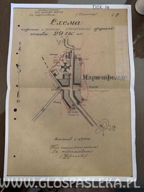 Wystawa dokumentów wojennych