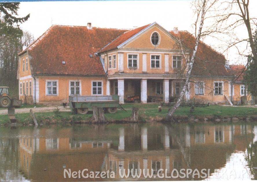Mała wieś Anglity pod Pasłękiem