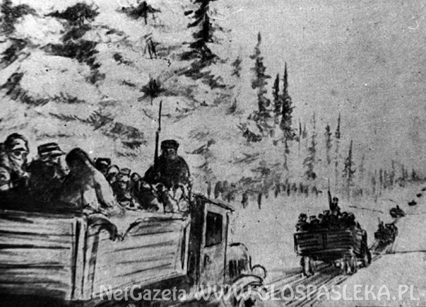 Wspomnienia wywiezionych na Sybir