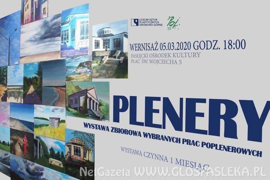 Wystawa prac uczniów Liceum Sztuk Plastycznych z Gronowa Górnego