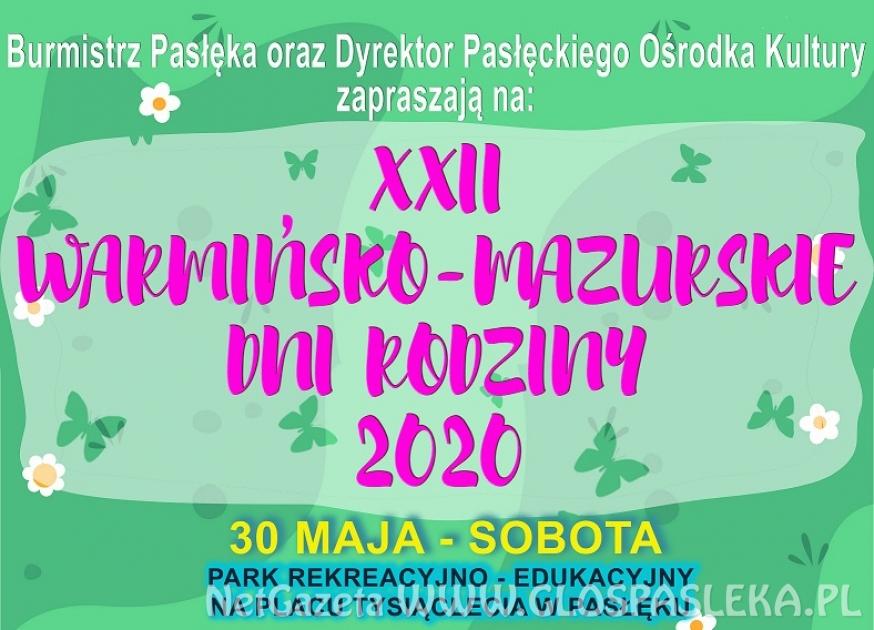 XXII Warmińsko Mazurskie Dni Rodziny