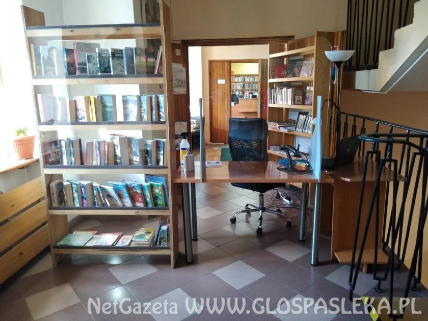 Pierwszy tydzień w nowych warunkach - Biblioteka