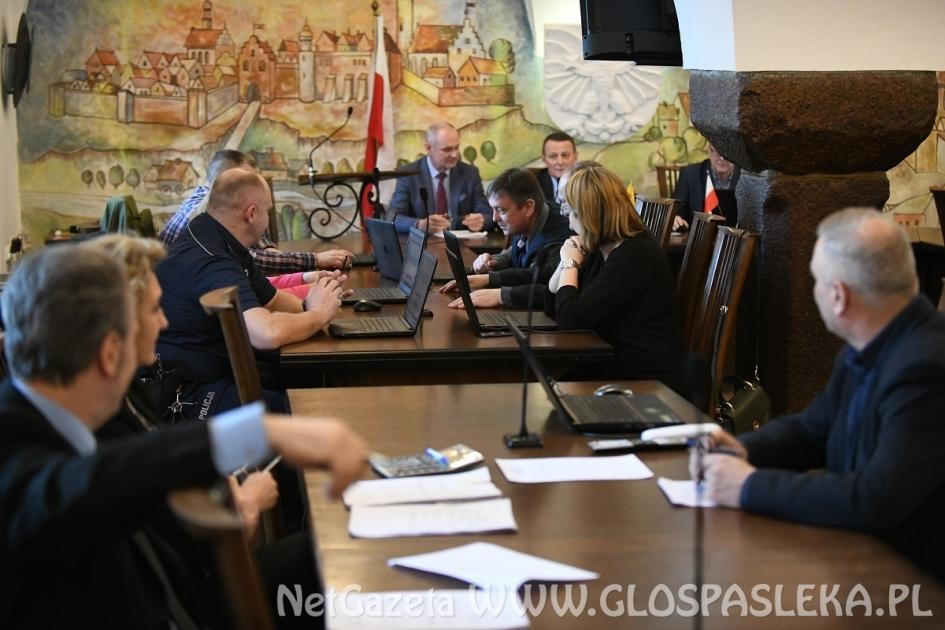 XIX sesja Rady Miejskiej wPasłęku kadencji 2018-2023