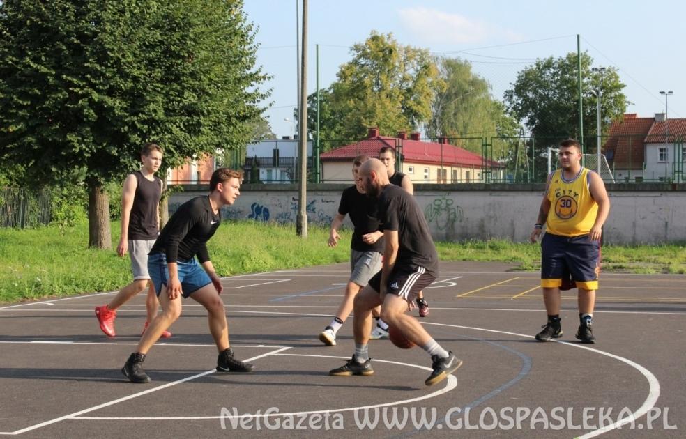 Turniej koszykówki ulicznej