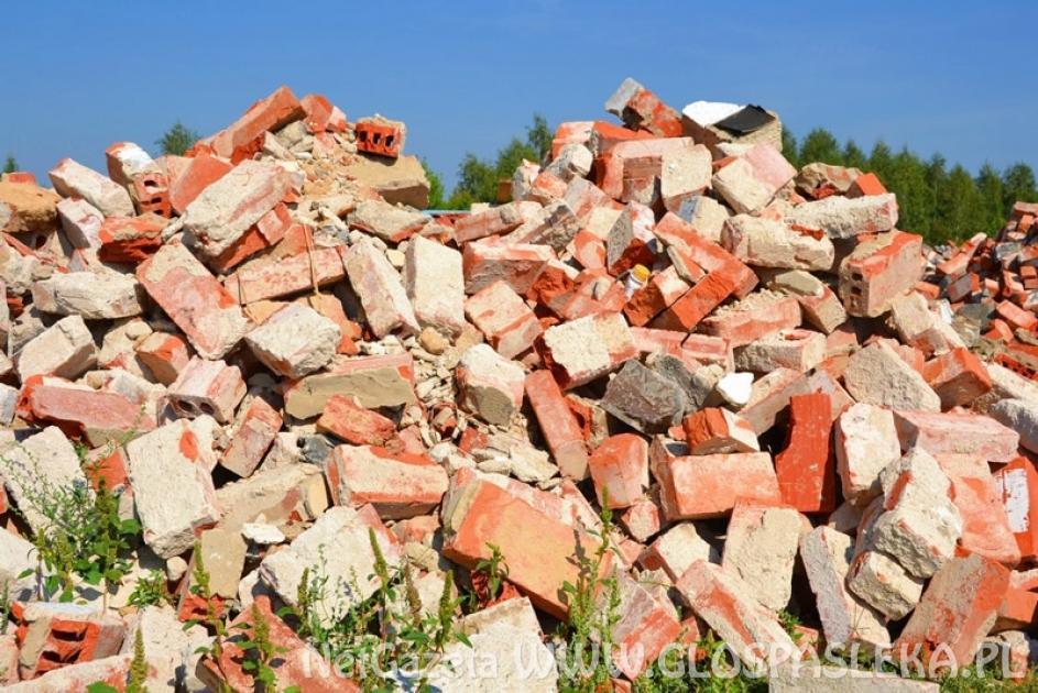 Odbiór odpadów budowlanych irozbiórkowych
