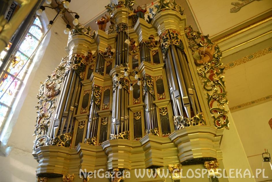 VIII Pasłęcki Festiwal Organowy - zaproszenie na koncert inauguracyjny