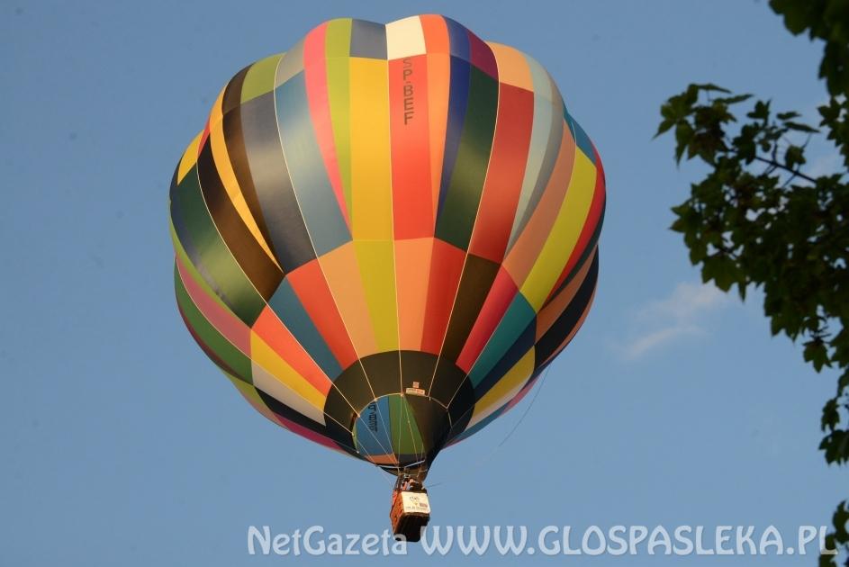 Balony nad powiatem elbląskim