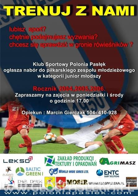 Nabór młodych piłkarzy