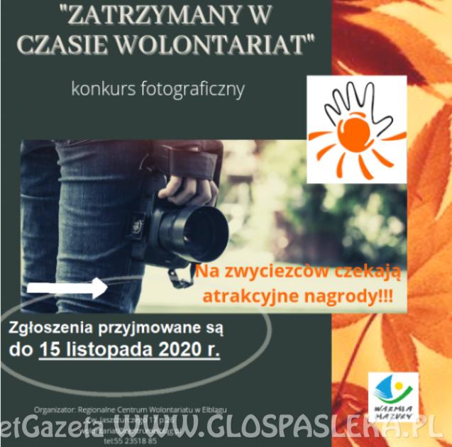 Konkurs fotograficzny - zgłoszenia do 15.11.2020