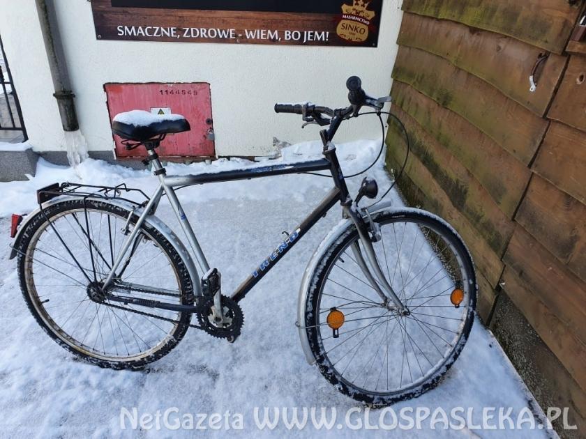 Ogłoszenie - znaleziono rower