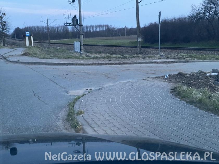 Minął weekend - wypadek koło Zielonki Pasłęckiej