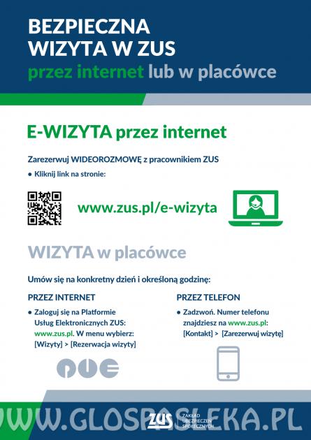 Klienci ZUS na Warmii i Mazurach skorzystali z ponad 1,8 tys. konsultacji on-line.