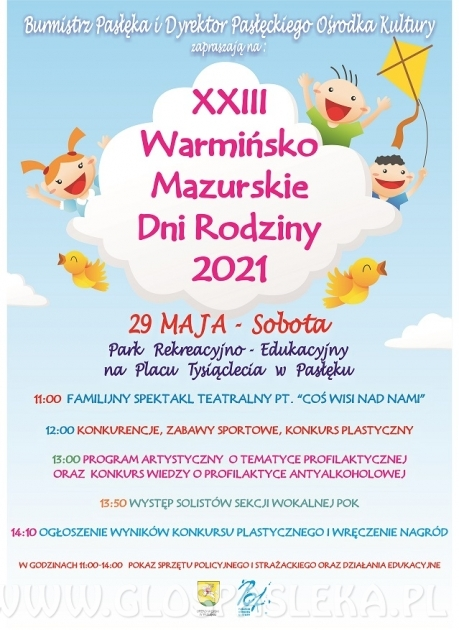 XXIII Warmińsko - Mazurskie Dni Rodziny 2021